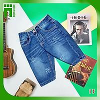 Quần short jean BIG SIZE cao cấp, chất jean dày dặn xươc nhẹ thời trang - NH Shop