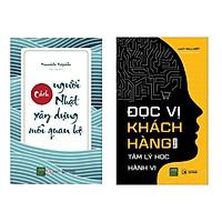 Combo sách kinh tế: Đọc Vị Khách Hàng Bằng Tâm Lý Học Hành Vi + Cách Người Nhật Xây Dựng Mối Quan Hệ