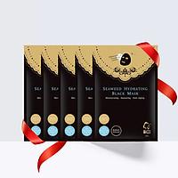 Combo 5 Mặt nạ đen BUTYBUTY dưỡng ẩm tảo biển Combo 5 sheets BUTYBUTY Seaweed Hydrating Black Mask