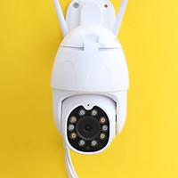 Camera IP không dây ngoài trời Yoosee PTZ 2 Râu FullHD 1080P đàm thoại 2 chiều - Phiên bản 2020 - Kèm thẻ nhớ 64G - Hàng Nhập Khẩu