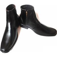 Giày boot da bò thật.MS:B13.