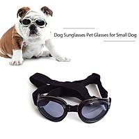 Dog Sunglasses Dog Goggles Pet Glasses UV Protection Sunglasses Adjustable Strap for Small Dog