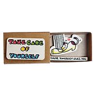 Thiệp Tình Yêu Hộp Diêm Take Care Of Yourself LV040