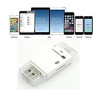 Đầu đọc thẻ nhớ cho iPhone iPad - i-FlashDevice HD Card Reader