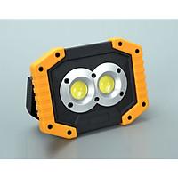 Đèn Led 10W sạc điện tiện lợi (Tặng kèm đèn pin bóp tay giao màu ngẫu nhiên)
