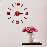 Đồng hồ treo tường 3D tự lắp ráp 4 số DH90