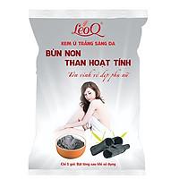 Kem ủ trắng da bùn non than hoạt tính 110g LeoQ