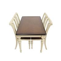 Bộ bàn ghế gỗ phong cách cổ điển
