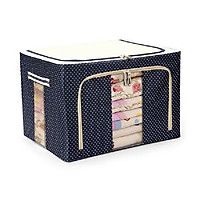 Túi đựng chăn màn khung sắt - màu cơ bản/giao ngẫu nhiên