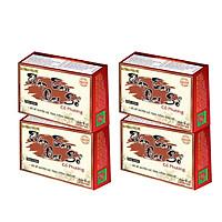 Combo 4 hộp thực phẩm chức năng bảo vệ sức khỏe Thập toàn đại bổ Cổ Phương bồi bổ nguyên khí, tăng đề kháng