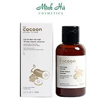 Gel bí đao rửa mặt Cocoon Winter Melon Cleanser 140ml giảm dầu và mụn ẩn, không chứa sulfate