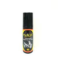 Chai xịt dưỡng bóng sơn và bóng da, làm đen nhựa nhám Pallas Wax 120ml tăng độ bóng, nổi bật màu sắc, chống bám bụi