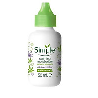 Kem dưỡng Simple Calming Moisturiser With Hemp Seed oil - 50ml