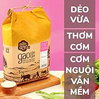 Gạo Mầm Đất Sen Trắng (túi 5kg)