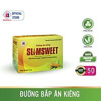 Đường Bắp Ăn Kiêng SLIMSWEET Hộp 50 gói - Dành cho người kiêng đường, tiểu đường và có chế độ ăn đặc biệt