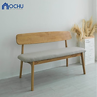 Ghế Gỗ Băng Dài Gỗ Cao Su OCHU - Iamar Chair M - Natural