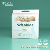 Tã hữu cơ thương hiệu Việt Babies Organic M54(6kg-11kg) L50(9-14kg) XL46(12-17kg) 2XL40>15kg