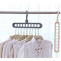 Combo 2 móc treo quần áo đa năng chịu lực tốt
