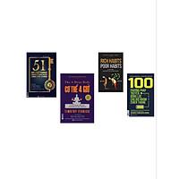 Combo  4 cuốn Sách 51 nhà lãnh đạo( tặng 1 giá đỡ iring cute)