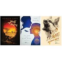 Combo sách của Romain Gary: Rễ trời + Lời hứa lúc bình minh + Chó trắng
