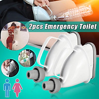 Portable car travel children outdoor adult urinal men and women standing urinal funnel urinal camping toilet