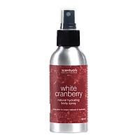 Xịt Khoáng Dưỡng Thể Nam Việt Quất White Cranberry Natural Hydrating Body Spray Scentuals (100ml)