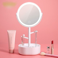 Gương Trang Điểm có tích hợp đèn cảm ứng Ecoco E1908 (Giao màu ngẫu nhiên)