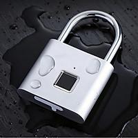 Ổ khóa vân tay chống trộm thông minh + Tặng kèm 5 kẹp dây điện chống rối