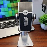 Micro thu âm condenser cổng USB AKG LYRA C44 USB 4 màng thu  cho máy tính - Hàng chính hãng