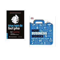 Combo 2 cuốn sách: Khác Biệt Để Bứt Phá + How business works – Hiểu hết về kinh doanh