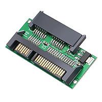 Thẻ Chuyển Đổi Máy Tính Có Chip IC Tích Hợp 1.8in Micro SATA Sang SATA 2.5 SSD