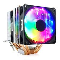 Quạt tản nhiệt CPU Led 4 ống đồng Coolmoon MX4