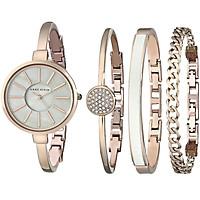 Bộ Đồng hồ Nữ Anne Klein AK/1470RGST kèm 3 vòng đeo tay