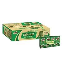 [Chỉ Giao HCM] [Phiên bản ống hút giấy] Thùng 48 hộp sữa lúa mạch Nestlé Milo (48x115ml)