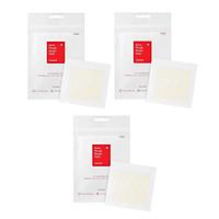 Combo 3 Miếng dán xẹp mụn nhanh chóng COSRX Acne Pimple Master Patch (Gồm 24 miếng dán) x 3