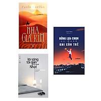 Combo 3 Cuốn Sách Kỹ Năng Sống Thay Đổi Cuộc Đời Bạn: Nhà Giả Kim + Đừng Lựa Chọn An Nhàn Khi Còn Trẻ + Lối Sống Tối Giản Của Người Nhật (Tái Bản)