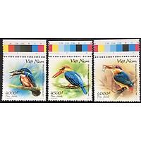 Bộ Tem Sưu Tầm Việt Nam 2020 Chủ Đề Chim - 3 Stamps
