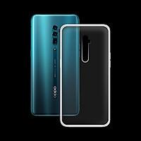 Ốp lưng cho Oppo Reno 10X Zoom Edition ( 6.6 inch ) - 01230 Ốp dẻo trong - Hàng Chính Hãng