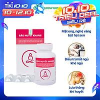 Bộ 3 hộp - Thực phẩm bảo vệ sức khỏe Bảo Huyết Khang - Giúp giảm đau đầu, say tàu xe, lưu thông khí huyết, rối loạn tiền đình, tăng cường trí nhớ