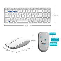 Combo chuột bàn phím không dây đa chế độ Rapoo 9300M, Bluetooth dễ dàng chuyển đổi & 2.4G