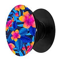 Popsocket in hình dành cho điện thoại Mẫu Hoa Lá Xanh