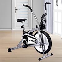 Xe đạp tập thể dục air bike 8701 mẫu mới 2020 màu Xám (hàng nhập khẩu) thích hợp cho mọi lứa tuổi luyện tập