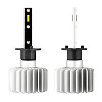 2pcs Super Bright Auto LED H1 Fog Lamp Headlight Bulbs 3500LM 20W 9-32V