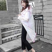 Áo đi mưa thời trang phong cách Hàn Quốc