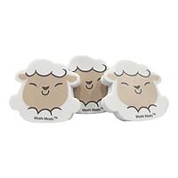 Bộ 3 Gôm 558 Moshi Moshi - Mẫu 1 - Hình Cừu