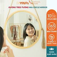 Gương Tròn Soi Treo Tường BEYOURs Khung Gỗ Decor - Mia-Circle-Mirror Trang Điểm - Nội Thất Phòng Khách, Phòng Ngủ