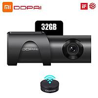 Máy ghi hình độ nét cao 32G phát hiện chuyển động tầm nhìn ban đêm góc rộng Youpin DDPai Mini3 Drive 1600P