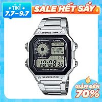 Đồng Hồ Casio Anh Khuê AE-1200WHD-1A Chính Hãng - Pin 10 Năm