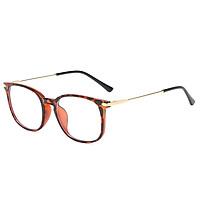 LG8815 Blue Light Blocking Glasses Frame Light Plastic&Metal Eyeglasses Frame for Man and Woman Anti Glare Filter