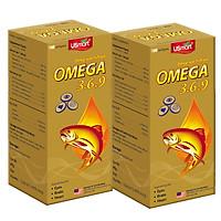 Combo 2 Hộp Thực Phẩm Chức Năng Viên nang mềm Dầu Cá Hồi Bổ sung Omega 3-6-9 Sirio Pharma (100 viên)